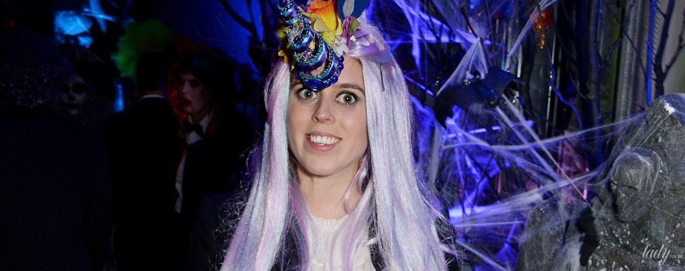 Принцессы тоже празднуют: эффектная Беатрис Йоркская повеселилась на хэллоуин-пати в Лондоне