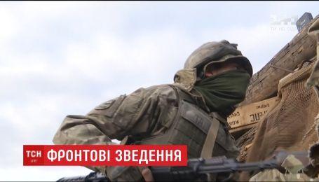 Оккупанты обильно обстреливают украинские позиции с артиллерии и минометов