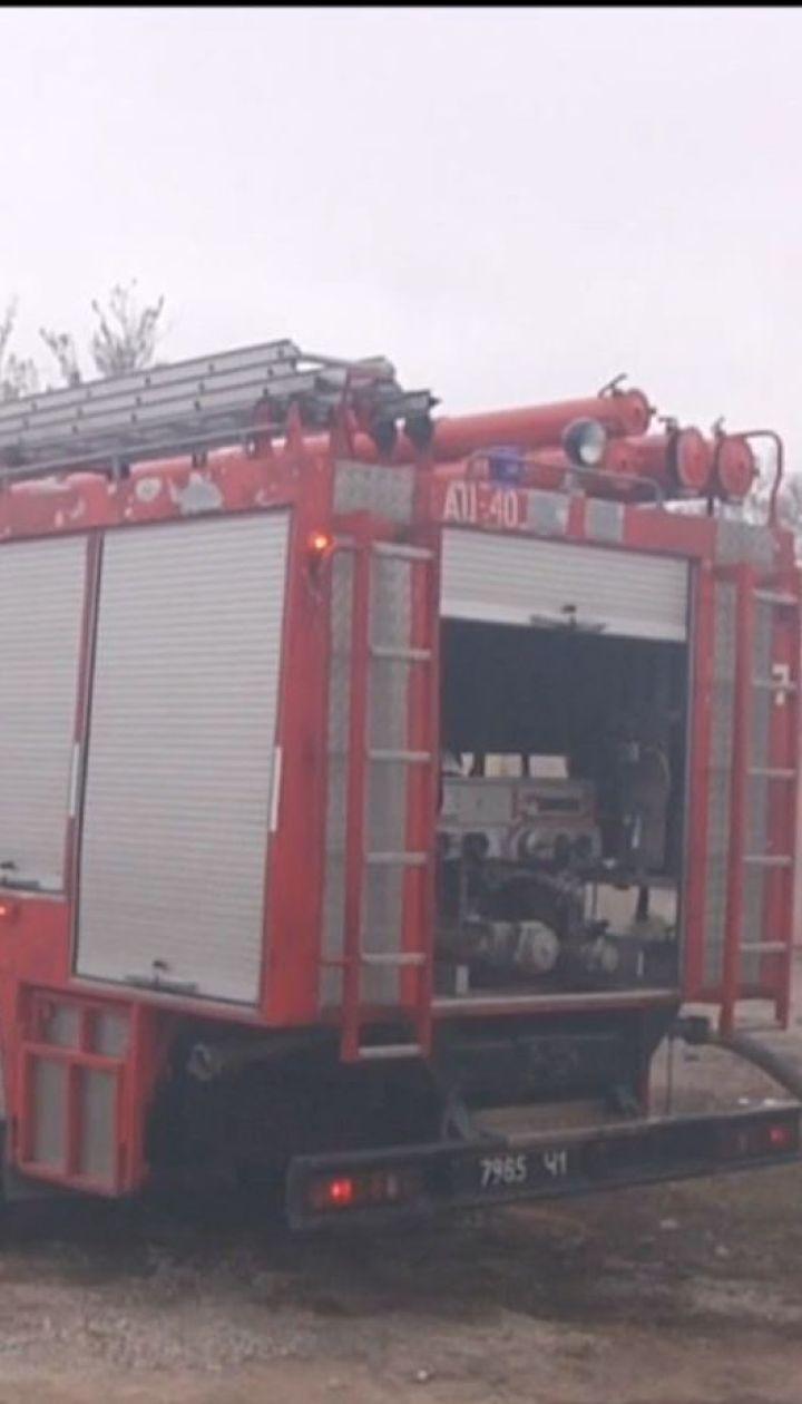 В Одессе возле нефтеперерабатывающего завода загорелась свалка