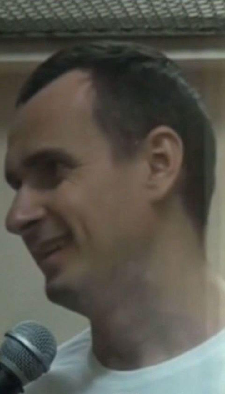 """""""Не турбуйтеся, я вижив"""". Сенцов написав листа про свій стан після завершення голодування"""