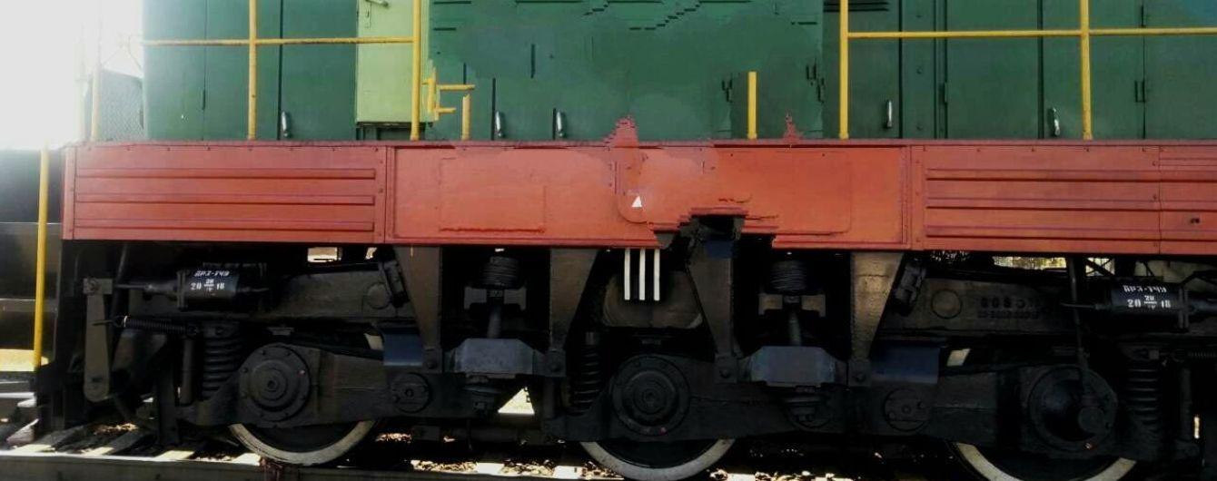 Під Харковом на школярку наїхав маневровий потяг