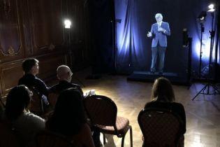 В університеті Лондона лекції студентам читатимуть 3D-голограми викладачів