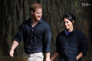 Принц Гаррі показав зворушливий знімок вагітної Меган в лісі