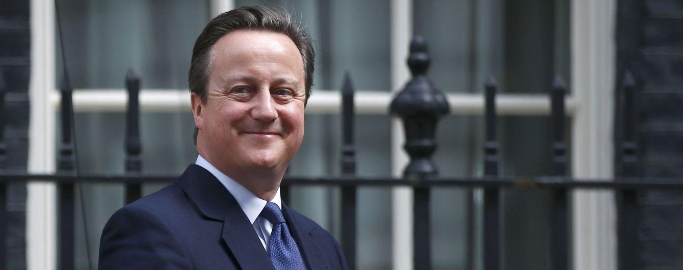 Екс-прем'єр Британії Девід Камерон планує повернутися в політику та очолити МЗС – ЗМІ