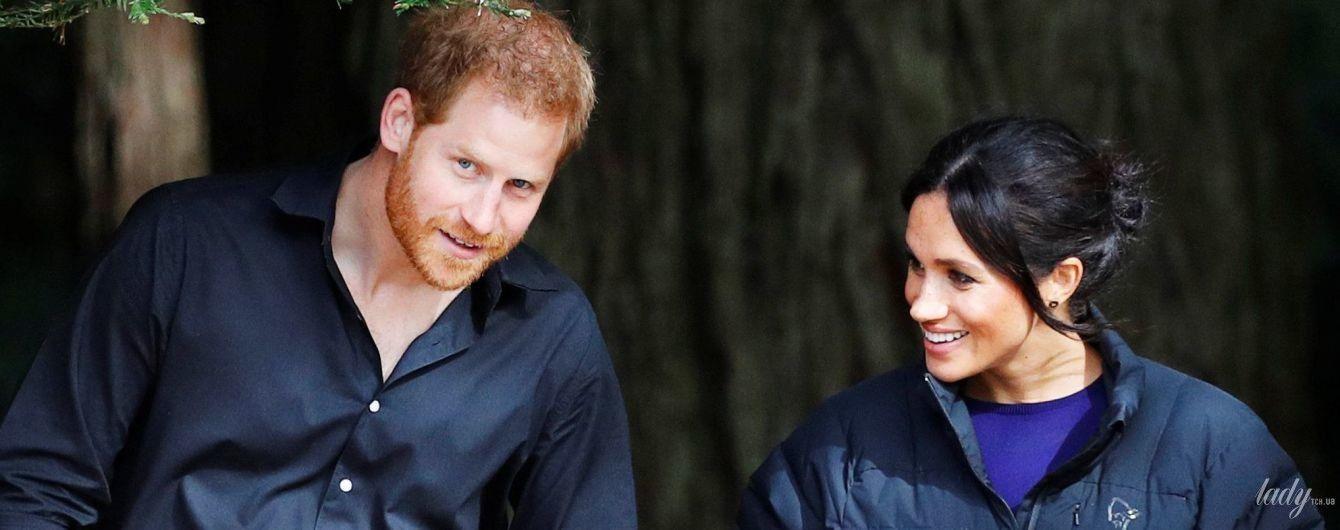 Из личного архива: принц Гарри поделился с поклонниками снимком своей беременной супруги герцогини Меган