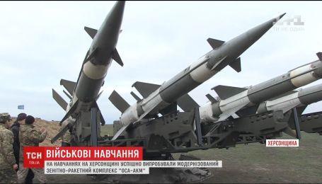 """Модернізований зенітно-ракетний комплекс """"Оса-АКМ"""" успішно випробували на навчаннях на Херсонщині"""