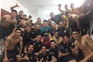 Марадона драйвово станцював після перемоги своєї команди у матчі Чемпіонату Мексики