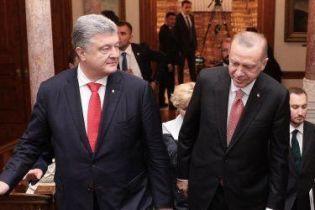 О чем говорили Порошенко и Эрдоган. Основные тезисы