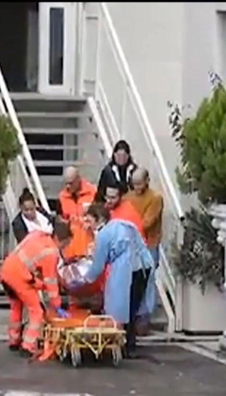 У Римі через пожежу в лікарні довелося терміново виселяти 400 пацієнтів