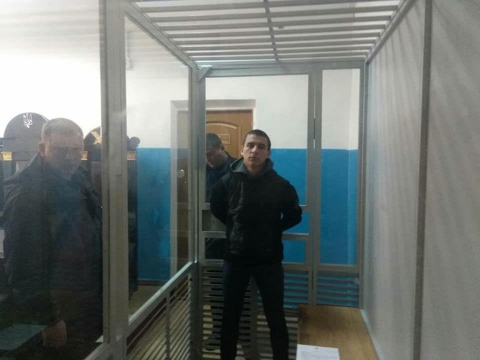 Олег Акімов, підозрюваний у нападі на Сергія Мазура
