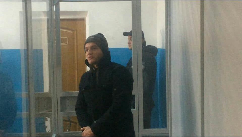 Андрій Павленко, підозрюваний у нападі на Сергія Мазура