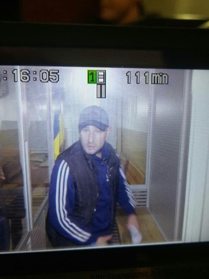 Руслан Бальянов, підозрюваний у нападі на Сергія Мазура