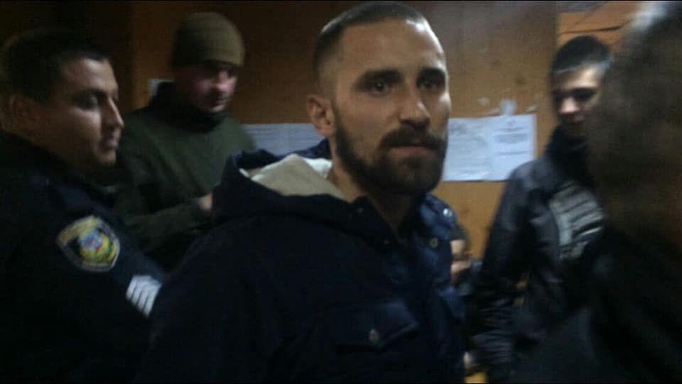 Дмитро Ісаєнко, підозрюваний у нападі на Сергія Мазура