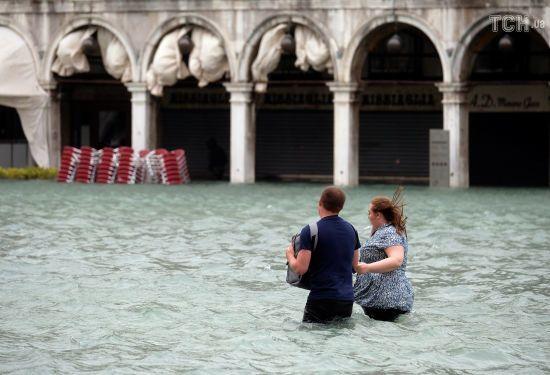 Негода з новою силою вдарила по Венеції