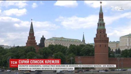 Выборочные недруги Путина: кого из украинцев Россия внесла в санкционный список
