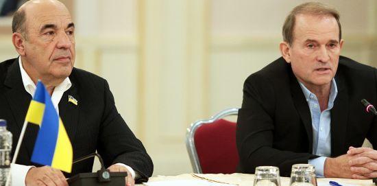 Медведчук очолив політраду партії Рабіновича