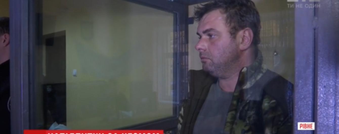 Водитель, который пьяный сбил подростков в Ровно, рассказал об аварии