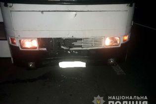 На Ровенщине автобус с пассажирами сбил насмерть пешехода