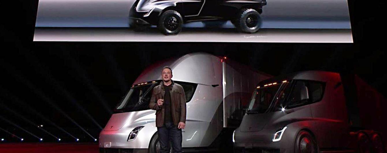 Илон Маск рассказал, чем будет интересен электропикап Tesla