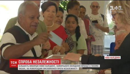 Нова Каледонія спробувала вчергове оголосити незалежність