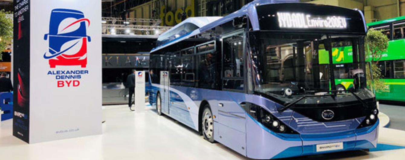 У Британії представили електробус з мобільною зарядною станцією