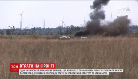 На Донбасі окупанти зменшили інтенсивність обстрілів, однак застосовують переважно важке озброєння