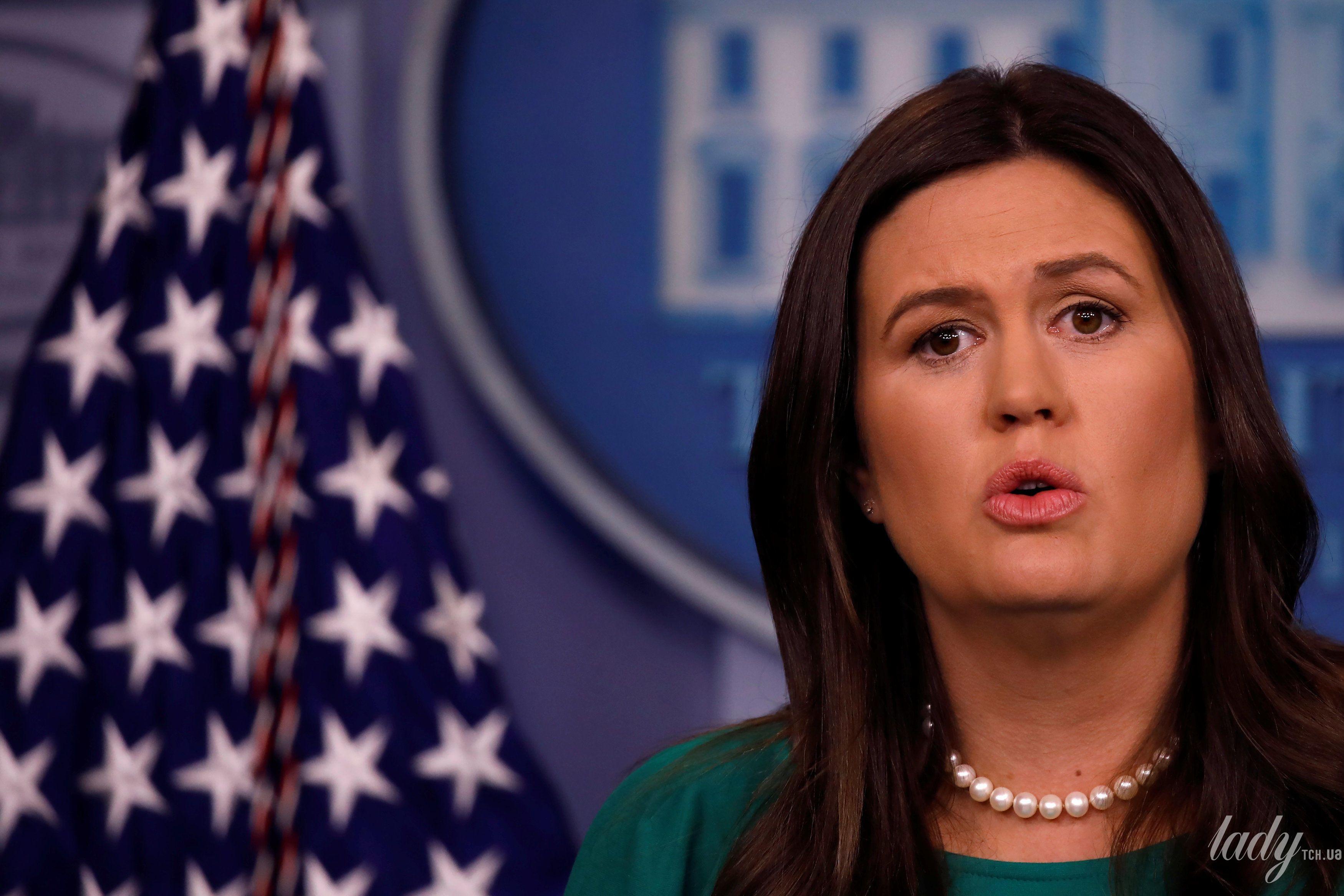 Пресс-секретарь Белого дома США_2