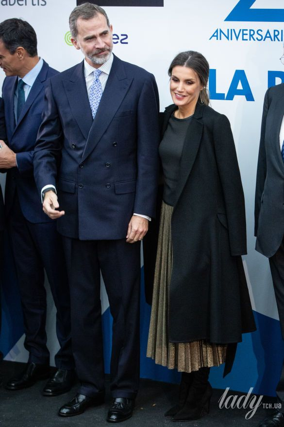 Королева Летиция и король Филипп VI_1