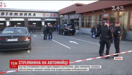 Смертельная стрельба произошла в Луцке