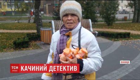 Жителей Винницы напугали тысячи резиновых утят, которые нашли в парке