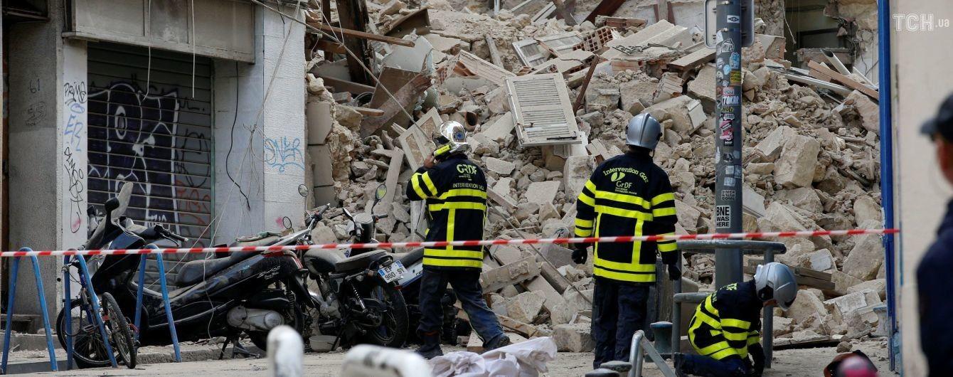 У французькому Марселі обвалилися житлові будинки – дев'ять осіб зникли безвісти