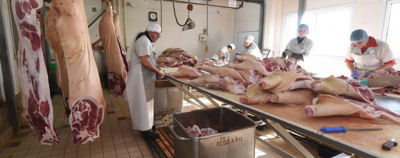 В Україну завезли імпортної свинини на 52 млн дол
