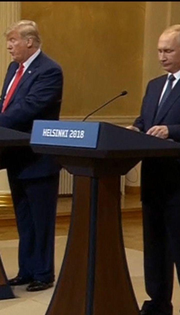 Трамп відмовився від двосторонньої зустрічі з Путіним у Парижі
