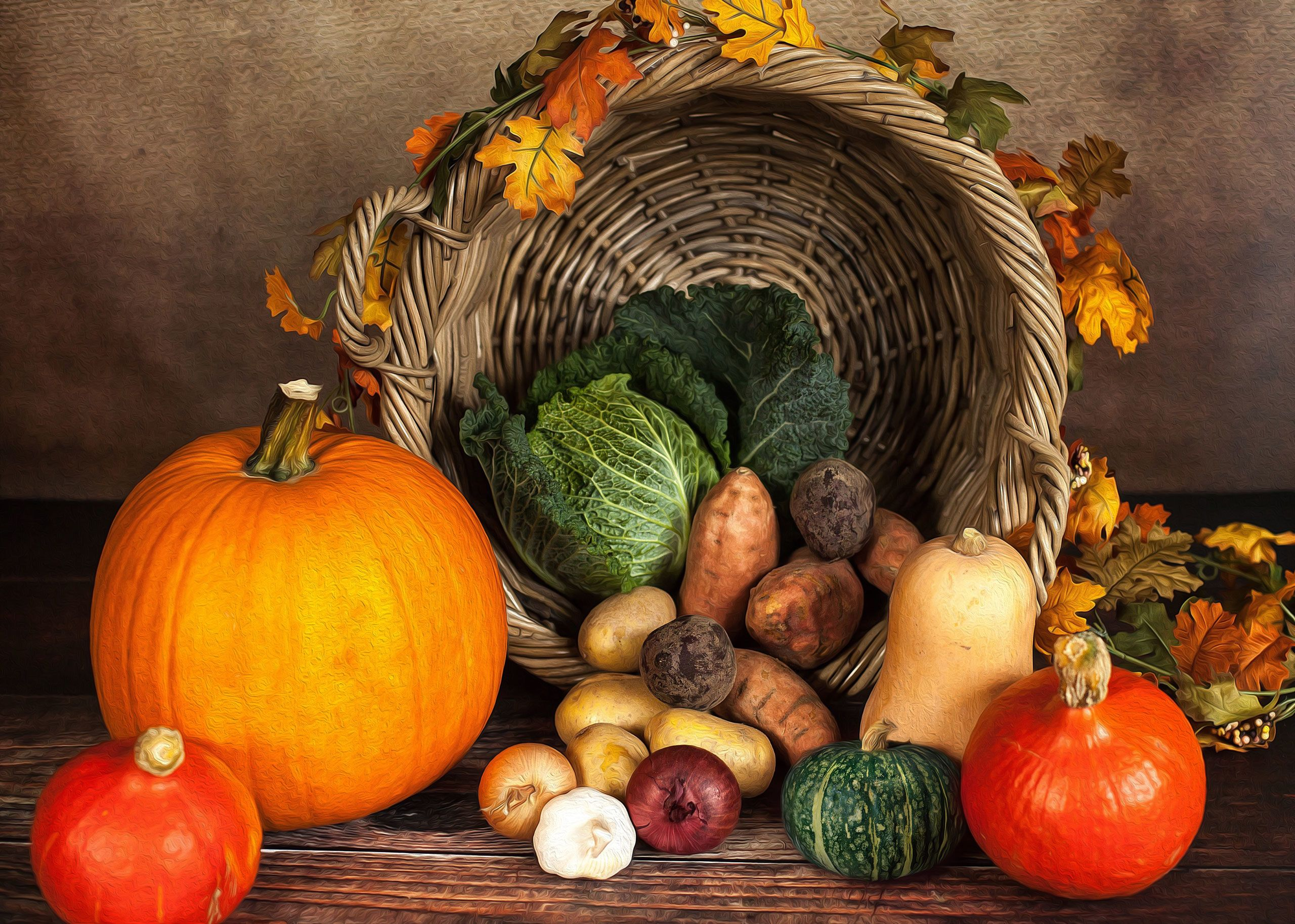Осінні овочі, для блогів