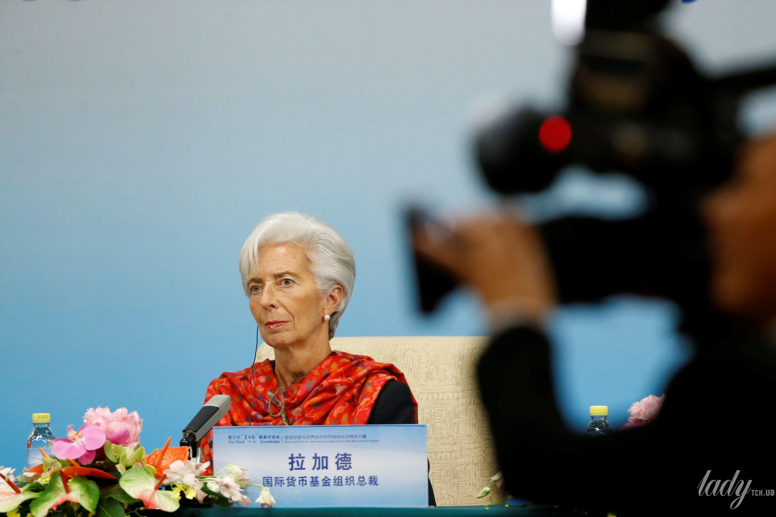 Глава Международного валютного фонда Кристин Лагард_5