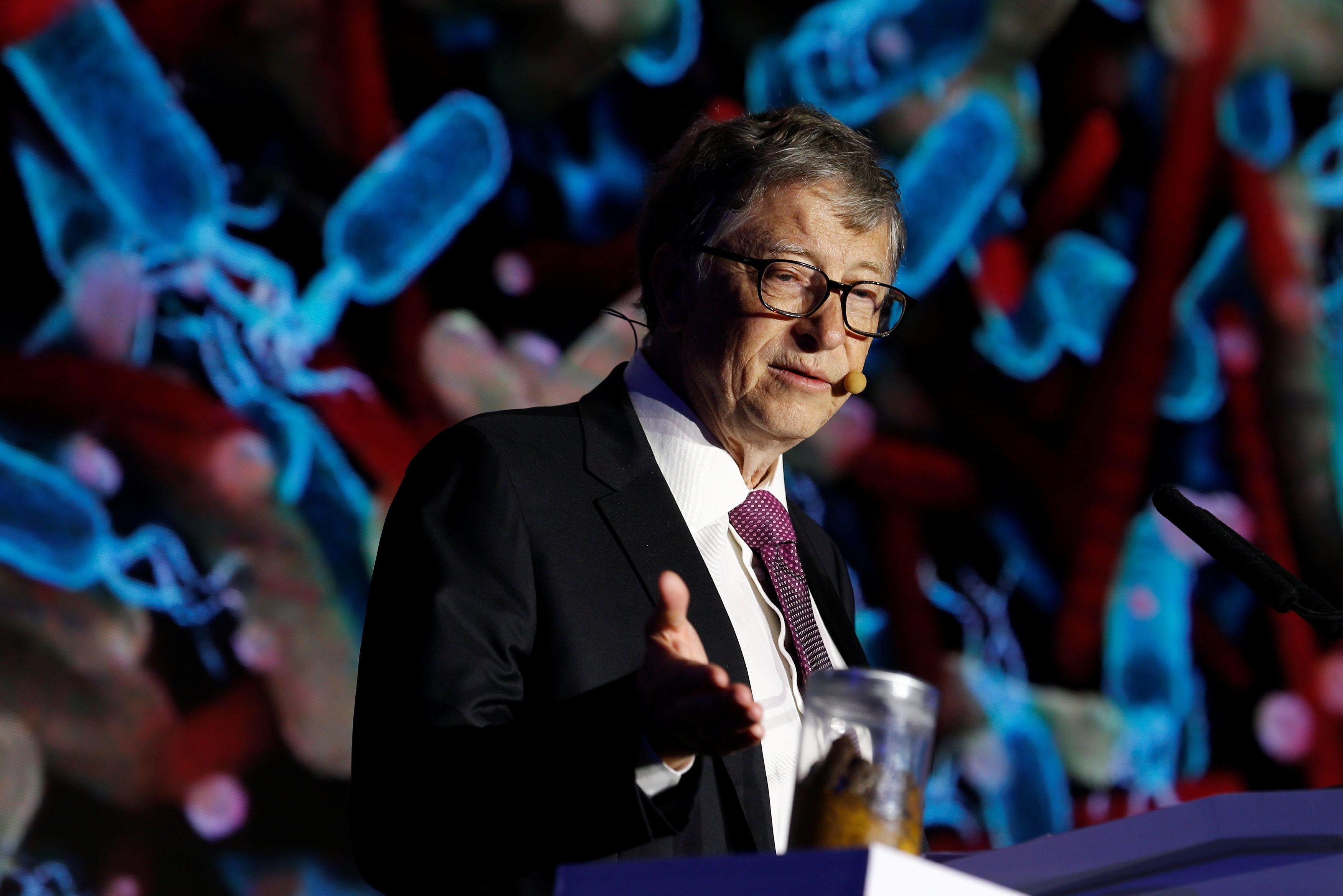 фекалії Білл Гейтс