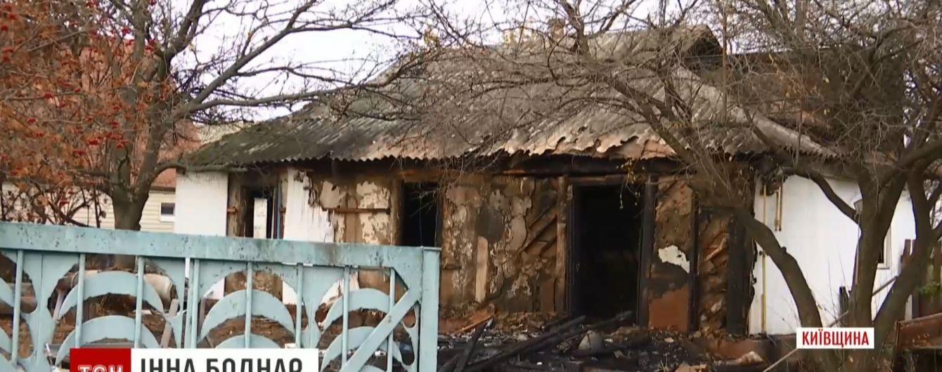 Огнеборцы назвали версии пожара под Киевом, в котором погибли маленькие дети и няня