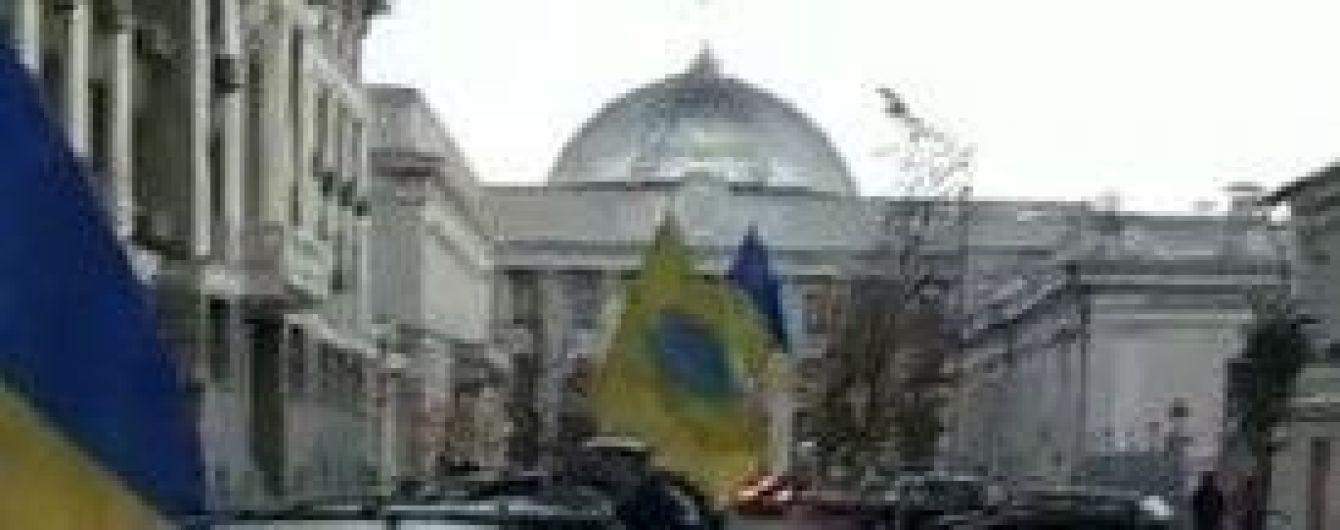 """Центр Киева остановится в длиннющих пробках из-за митинга владельцев """"евроблях"""""""