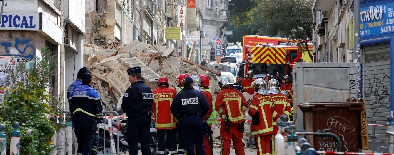 Вследствие обвала домов в Марселе погибло пять человек