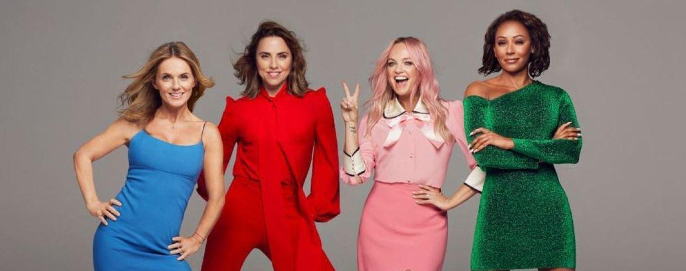 Возз'єдналися і сяють: учасниці Spice Girls потрапили в об'єктиви папараці в Лондоні