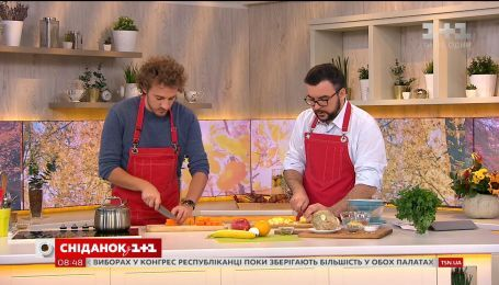 Евгений Клопотенко приготовил полезный овощной завтрак для детей