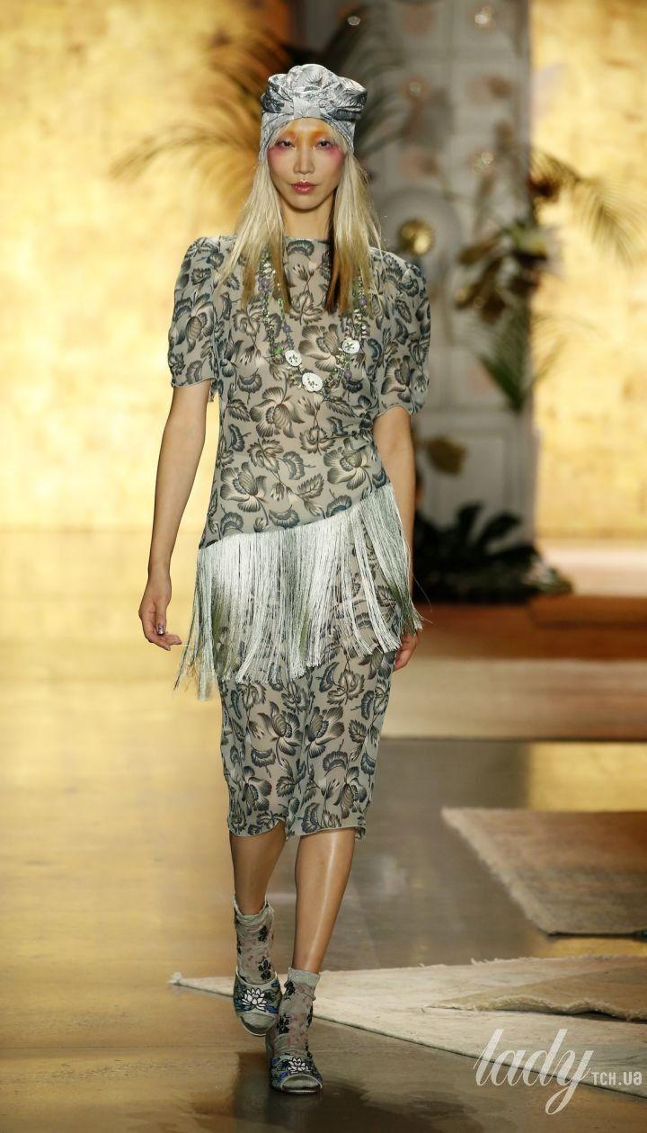 Колекція Anna Sui прет-а-порте сезону весна-літо 2019 @ East News