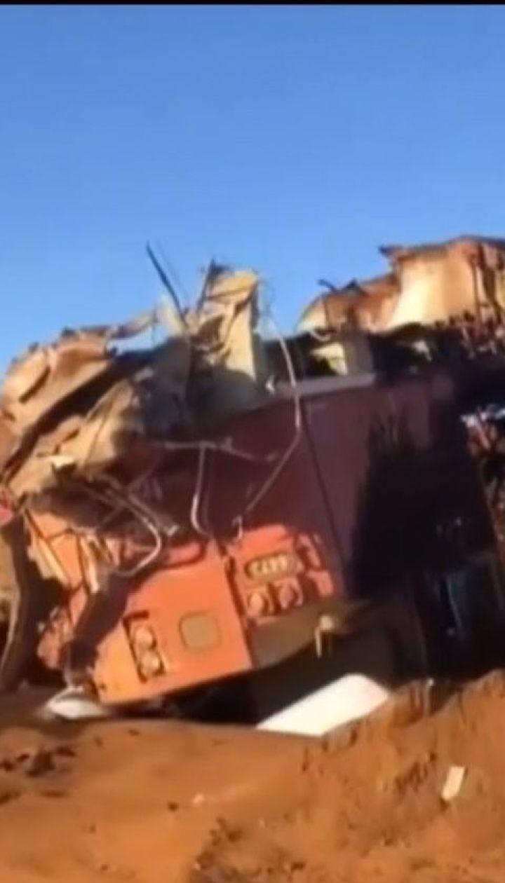 В Австралії з рейок зійшли вагони з вугіллям