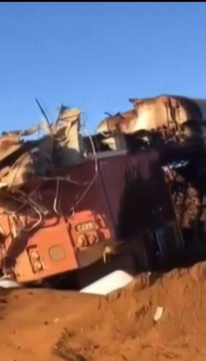В Австралии с рельсов сошли вагоны с углем