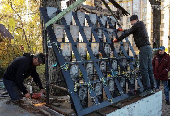 Стало відомо, хто збудує меморіал Героям небесної сотні у Києві