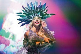 Оля Полякова в образі Мадонни знялась для відомого глянцю та дала відверте інтерв'ю