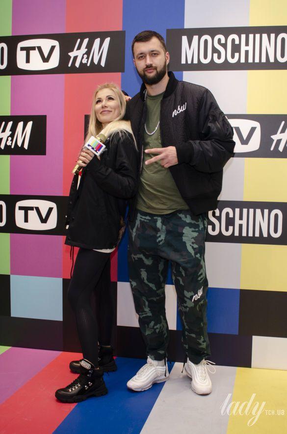 Вечеринка MOSCHINO [tv] H&M_8