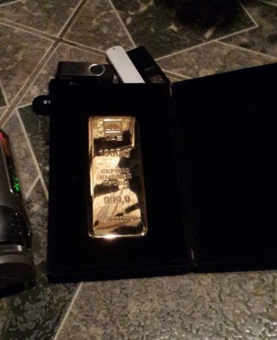 Лист до Лаврова та кілограм золота: СБУ показали результати обшуків у Бережної