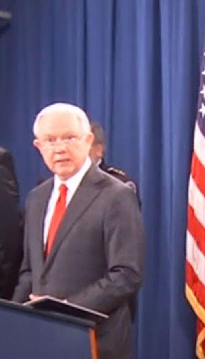 Генпрокурор США подал в отставку по требованию Трампа