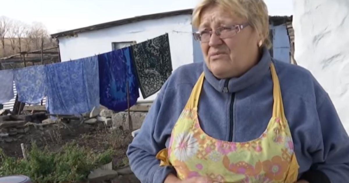 Після смерті чоловіка припинила ховатися у підвал - мешканка села на Світлодарській дузі